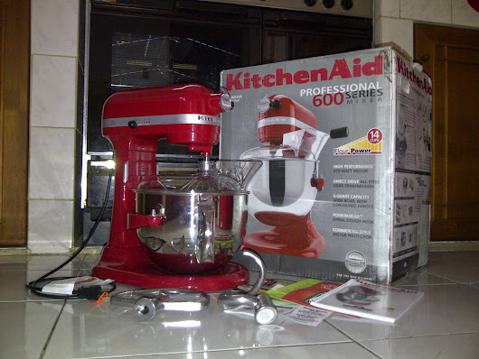 KitchenAid Pro 600 Series KP26M1XER Mixer