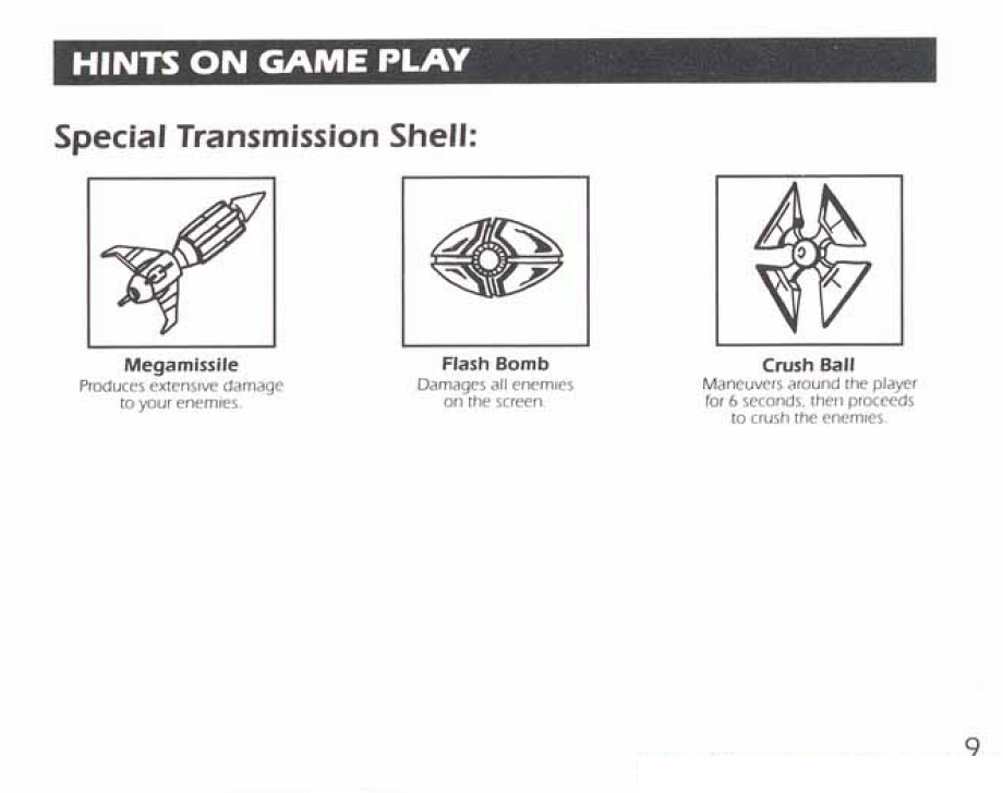 8-Bit City: Section Z NES Manual Scans