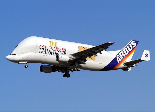 Gambar Pesawat Airbus Beluga 01