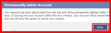 how to delete facebook account forever