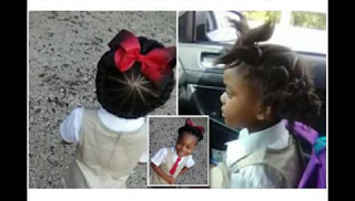 See This Little Girl's Before And After School Hairdo Is Going Viral