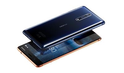 Nokia 8 Front & Rear
