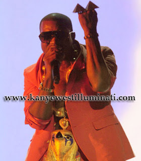 kanye west illuminati pyramid rings horus chain occult