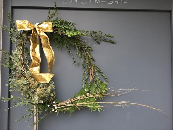 CtC 2018: Türkränze - weihnachtlich, elegant und DIY!