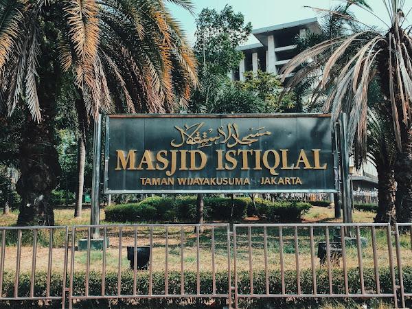 Menjajal Masjid Istiqlal