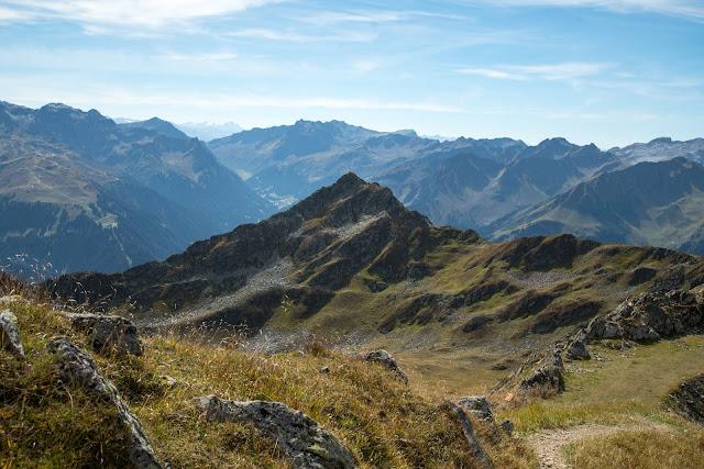 Gipfelweg Zamangspitze  Wandern Silvretta-Montafon  Vorarlberg 13