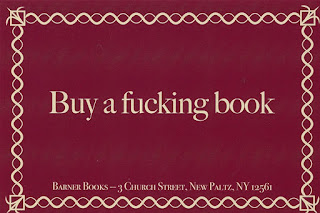 Barner Books Exclusive - Buy a Fucking Book