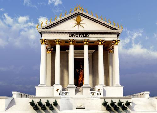 نتيجة بحث الصور عن معبد القيصرون بالاسكندرية