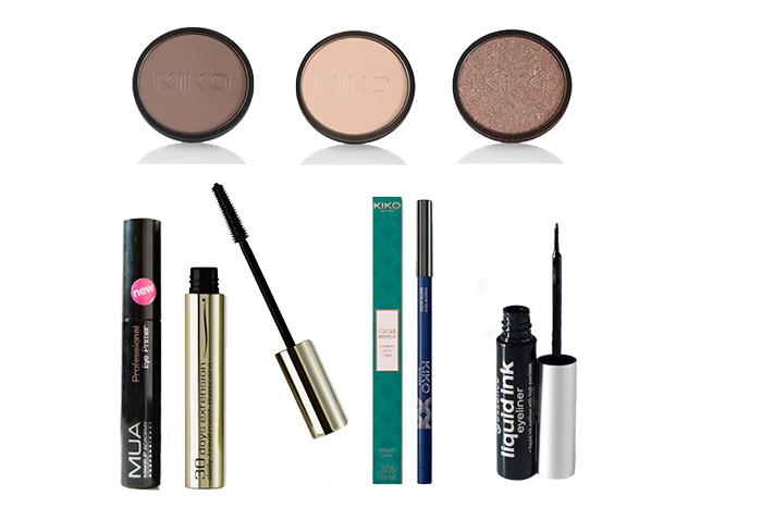 Maquillaje rápido y sencillo para diario. Productos utilizados.