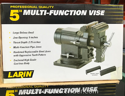 Make working on diy projects easier with the Larin 5in Multi-function Vise