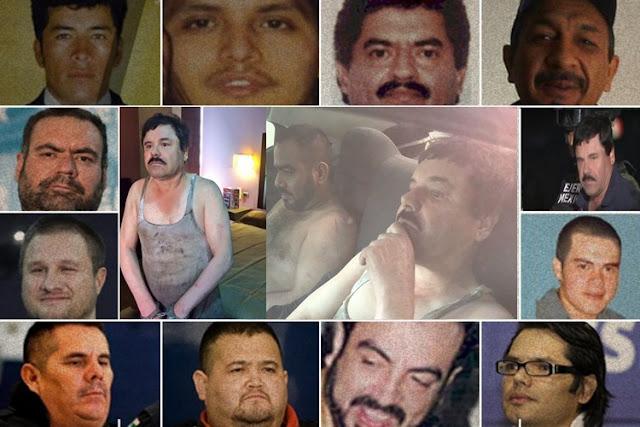 Estos son los 13 verdaderos capos del narco en una década