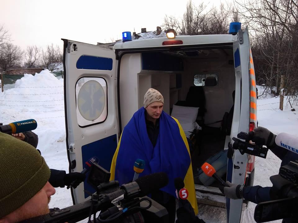 Из плена освободили бойца 92-ой бригады Романа Савкова