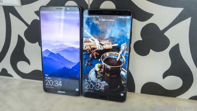 Huawei Mate 10 Vs Huawei Mate 10 Pro design