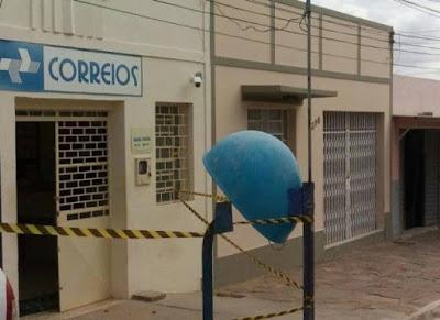 Bandidos tentam assaltar agência dos Correios em Caraúbas