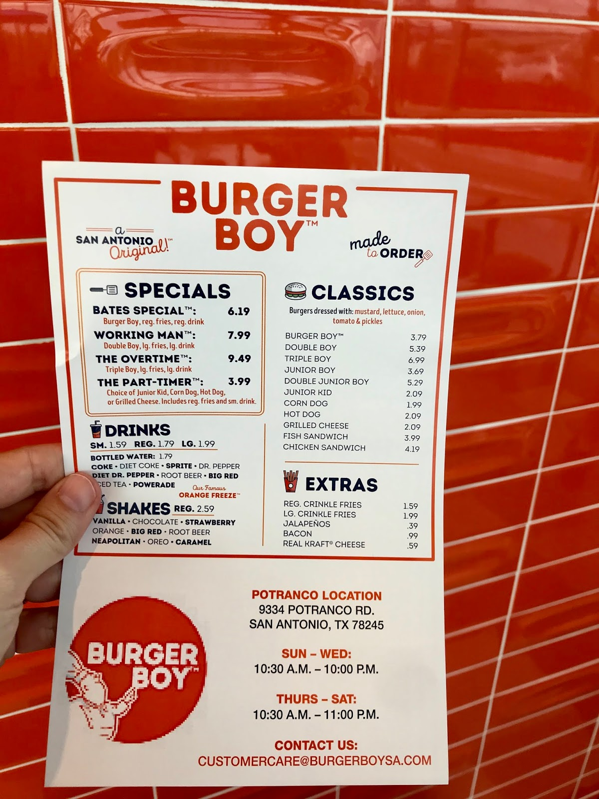 Airing My Laundry One Post At A Time Review Burger Boy In San Antonio Texas Now serving the best breakfast and burgers around town! burger boy in san antonio texas
