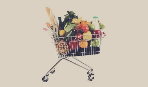 Compre apenas comida saudável!