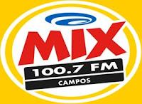 Rádio Mix FM 100,7 de Campos dos Goytacazes RJ