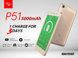 Itel P51 MaxPower Features, Specs And Price