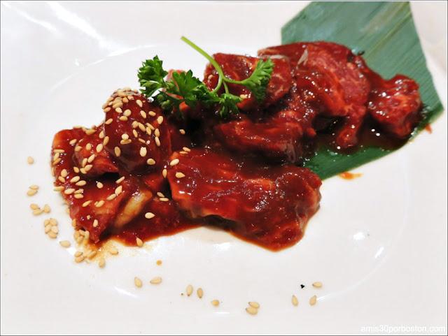 Carne Restaurante BBQ Japonés en Nueva York