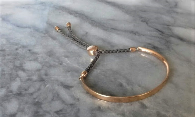 Monica Vinader - Rose Gold Vermeil Fiji Friendship Bracelet - £125.00