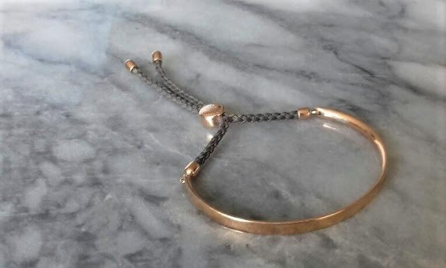 Monica Vinader - Rose Gold Vermeil Fiji Friendship Bracelet - £125.00