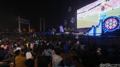 Suasana Seru Saat Nobar Piala Dunia 2018 - Blog Mas Hendra
