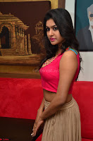 Akshita super cute Pink Choli at south indian thalis and filmy breakfast in Filmy Junction inaguration by Gopichand ~  Exclusive 061.JPG