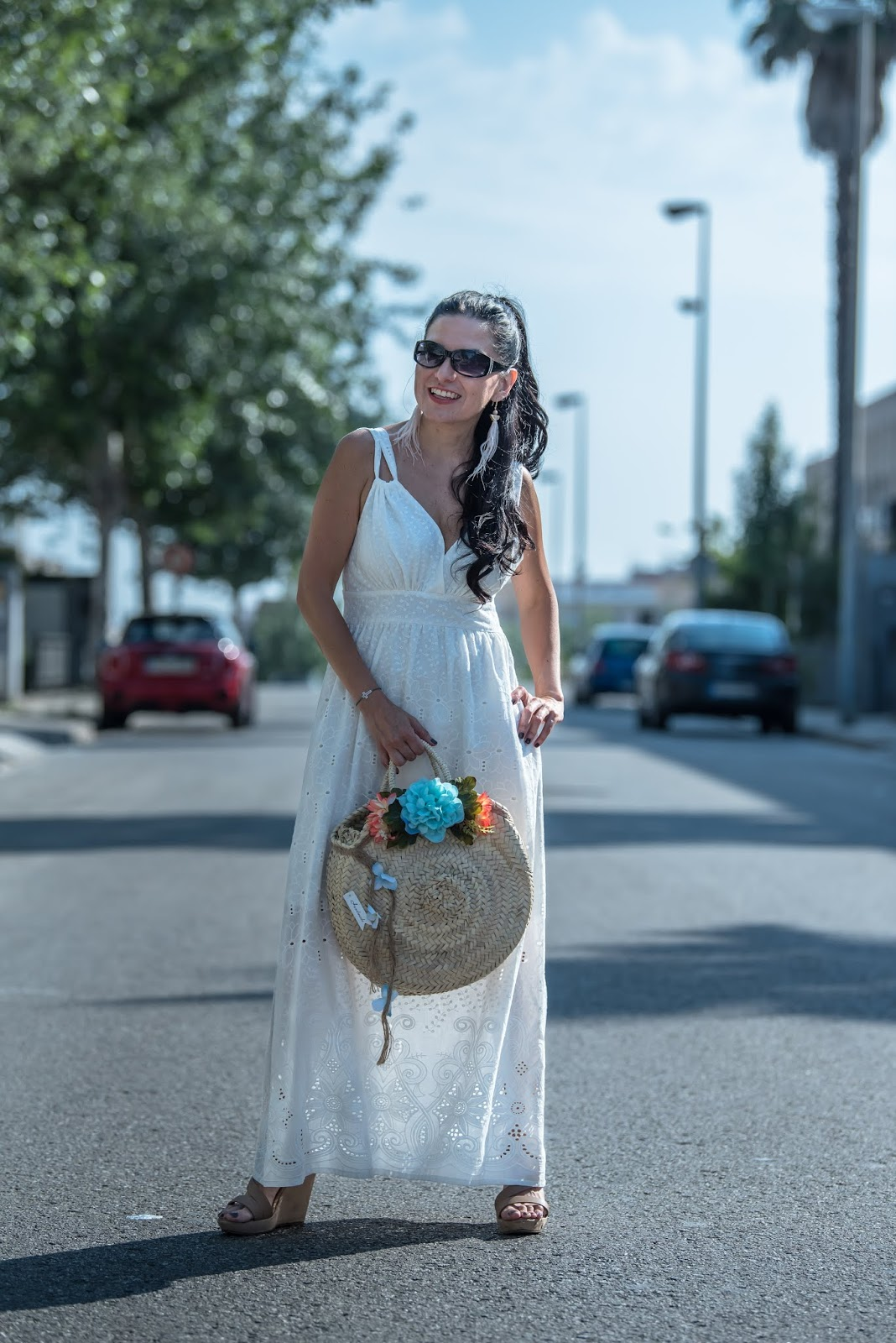 Vestidos blancos ibicencos barcelona