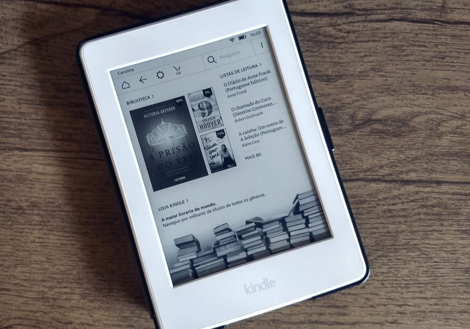 Resenha Kindle