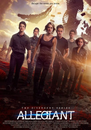 Allegiant 2016 BRRip 720p Dual Audio In Hindi English