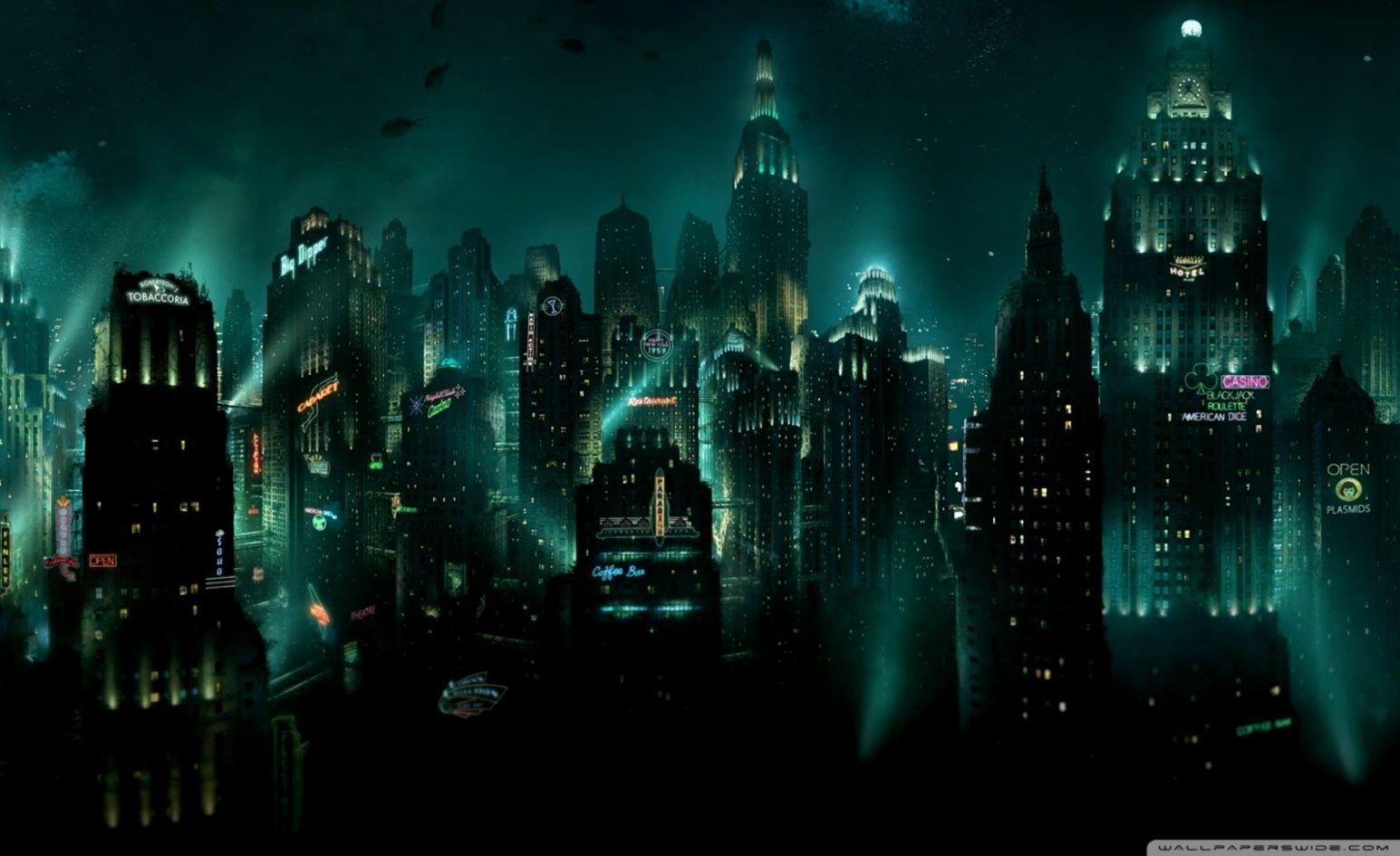 BioShock Rapture ❤ 4K HD Desktop Wallpaper for 4K Ultra HD TV