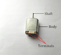 Kid's toy motor, 5V Permanent Magnet DC motor