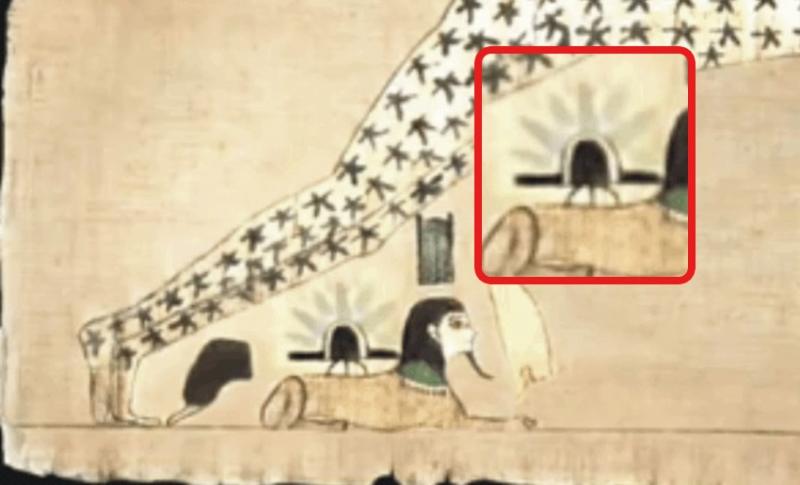 Cổ thư Ai Cập cho thấy UFO từng hạ cánh trên tượng Nhân Sư