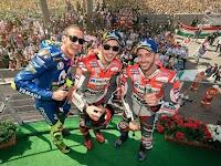 Inilah Sang Juara MotoGP Mugello 2018, Jorge Lorenzo, Marc Marquez Jatuh