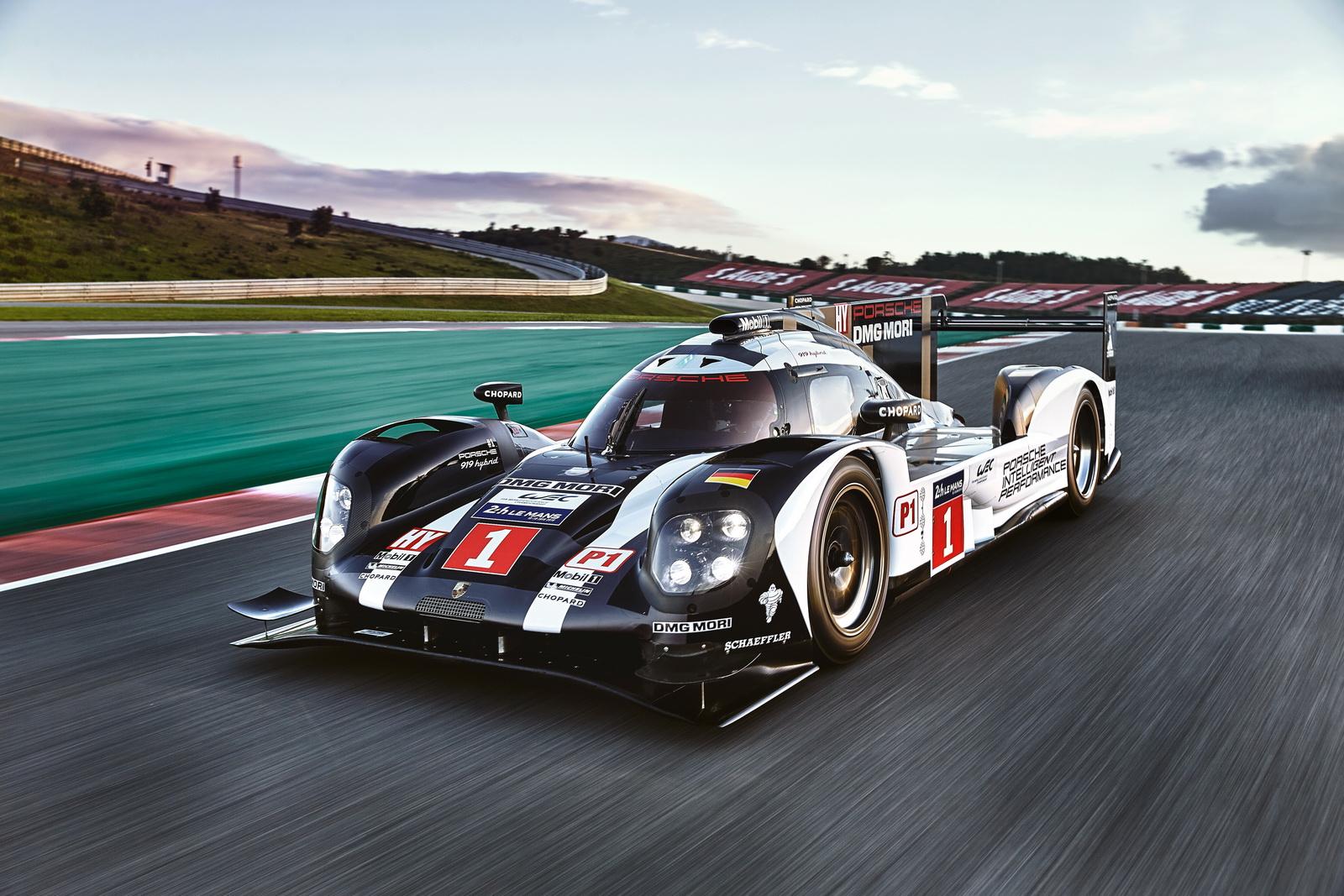 Porsche 919 Hybrid LMP1 2016 sẽ sử dụng công nghệ tuần hoàn đầu tiên trên thế giới