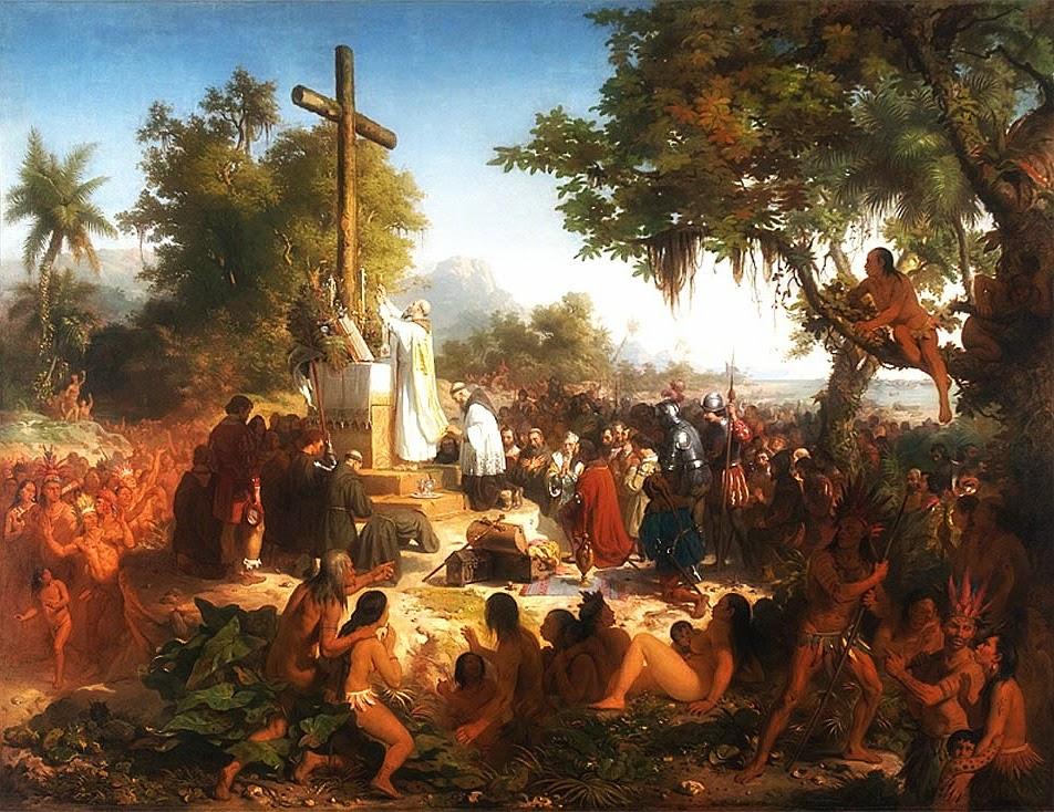 """""""A Primeira Missa do Brasil"""" (1858-1861) - Victor Meirelles de Lima"""