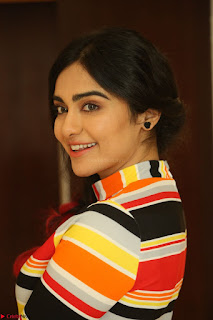 Adha Sharma in a Cute Colorful Jumpsuit Styled By Manasi Aggarwal Promoting movie Commando 2 (103).JPG
