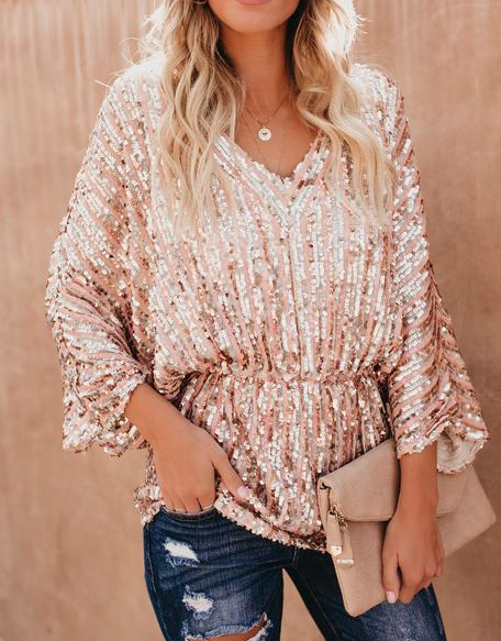 Glimmer of Hope Sequin Top