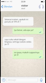 Tema Whatsapp iPhone Untuk Whatsapp Mod Terbaru 2019