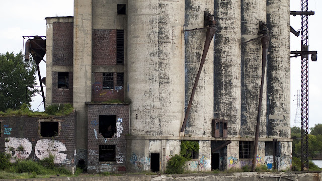 Abandoned silo spotted on our boat tour of the Buffalo River