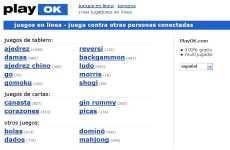 PlayOk: juegos online gratis. Ajedrez, Canasta, Gin, Reversi, Backgammon. Dominó,  y muchos otros juegos
