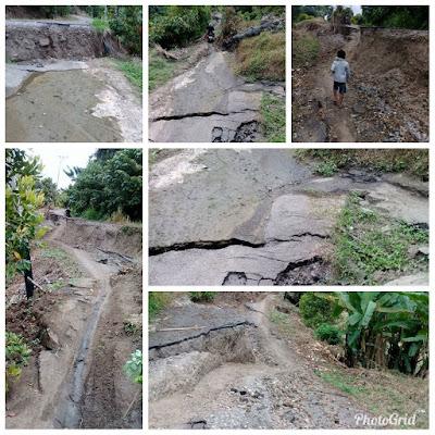 Kondisi Ruas Jalan Buyat - Bukaka Kabupaten Bolaang Mongondow Timur