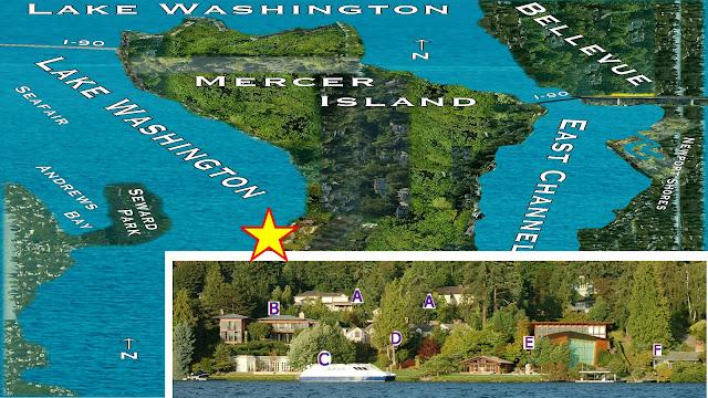 Lake Washington Cruising: Paul Allen – Viewing Mercer Island Campus