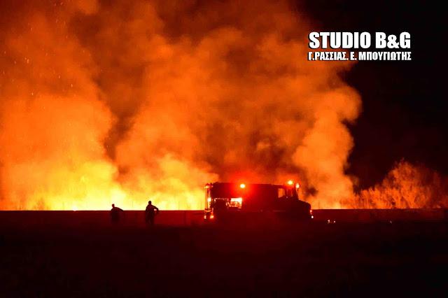 Προσοχή: Στο κόκκινο η Αργολίδα για εκδηλωση πυρκαγιάς την Παρασκευή