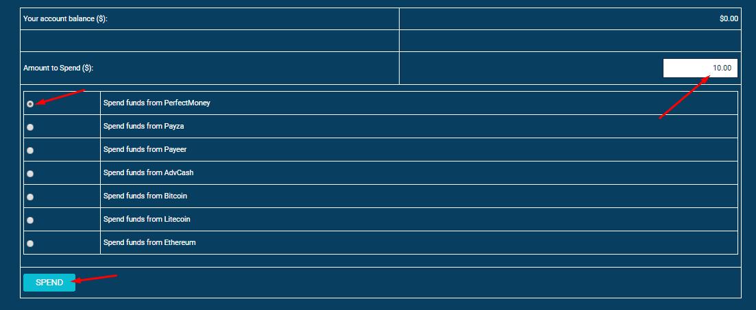 Регистрация в СryptoState 5