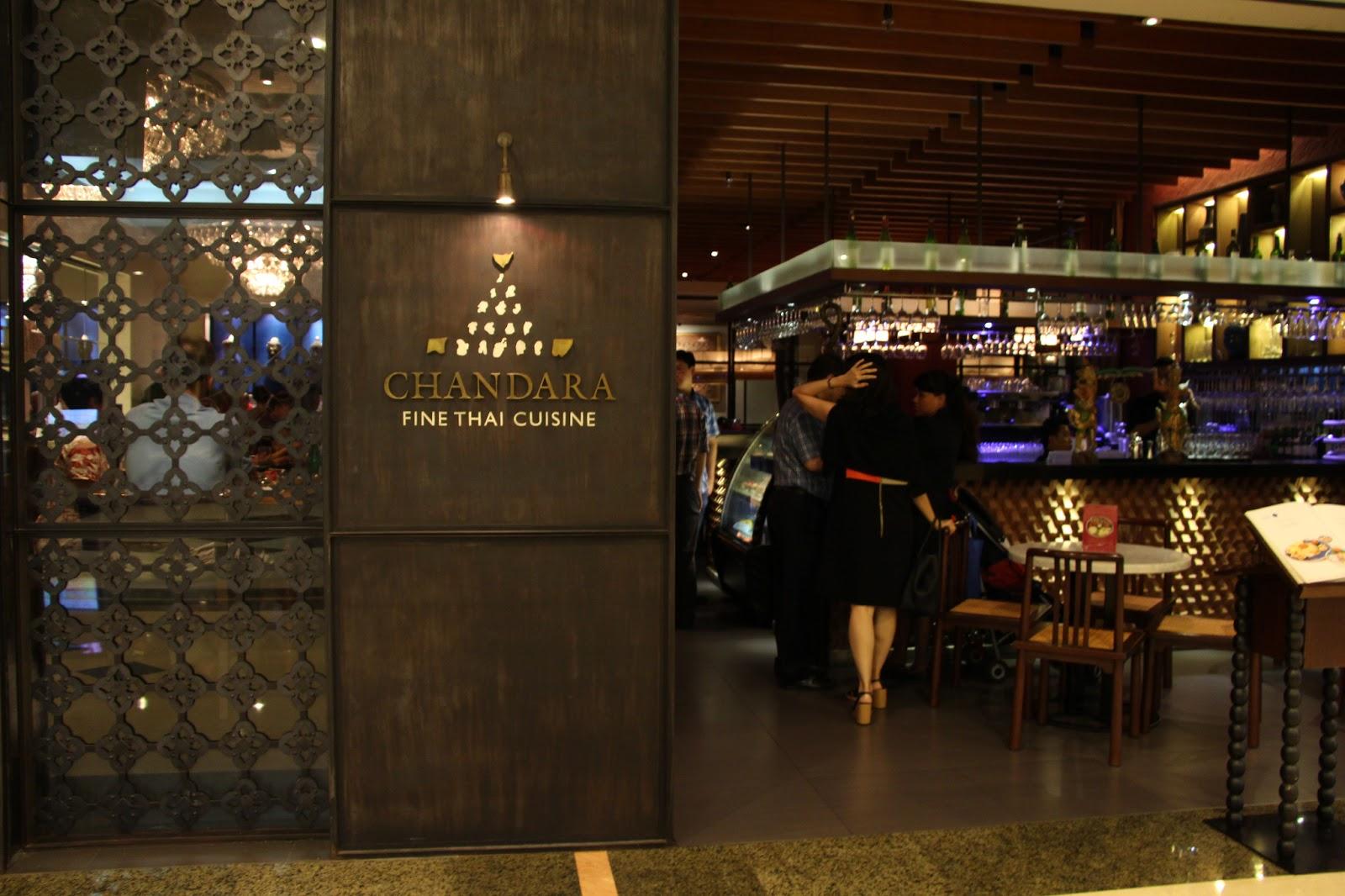 TOEVELGRAPH: Chandara Fine Thai Cuisine - restoran thailand di jakarta