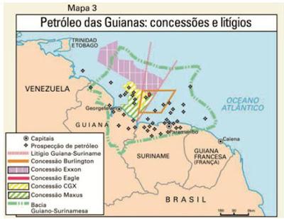 Encrucijada geopolítica de Guyana
