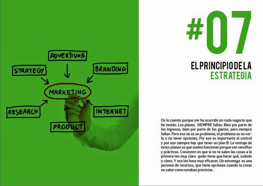 principios del emprendimiento