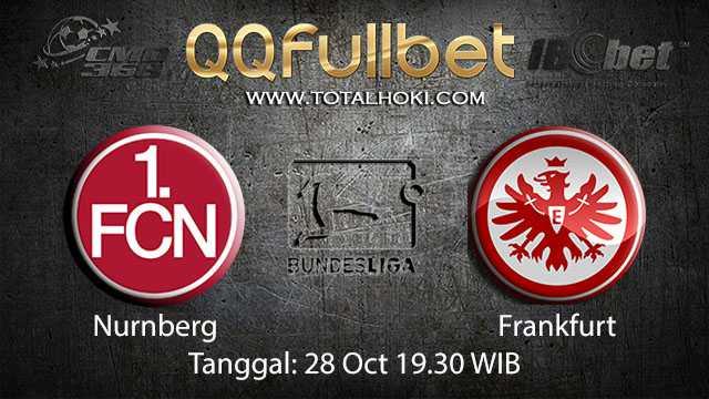 Prediksi Bola Jitu Nurnberg vs Frankfurt 28 Oktober 2018 ( German Bundesliga )