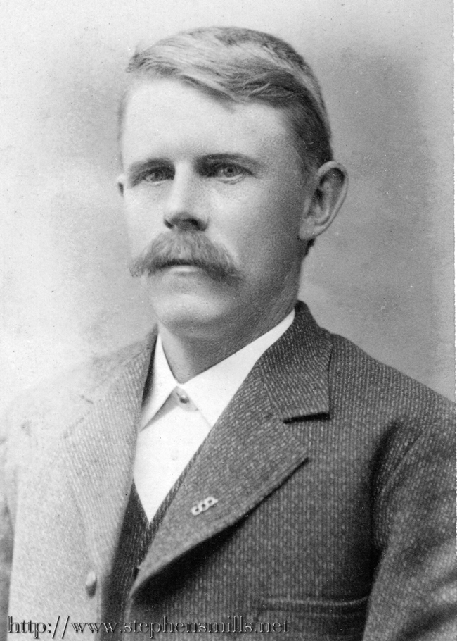 photo Herbert Clinton Bacon born 8/19/1850 in Woodstock, Maine  Died 10/25/1907 in Woodstock, Maine  Son of  Abel Bacon 1825-1909 and Cordelia Berry Bacon 1829-1904 Herbert Bacon was a teacher and farmer. Herbert Bacon married Alice Amanda Hathaway on 5/14/1871 and they made their home at the  Captain Samuel Stephens homestead.